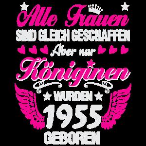 Königinnen sind Jahrgang 1955 geboren