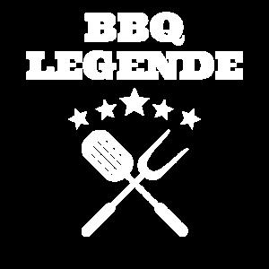 BBQ Legende Chef Grillmeister grillen