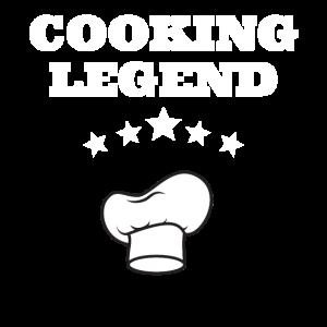 Cooking Legend Koch Legende Chef Küchenchef