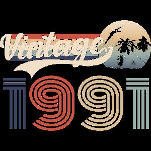 40. Geburtstag Vintage