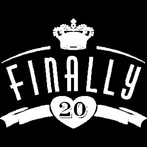 20. Geburtstag | Finally 20 | Endlich 20 Jahre