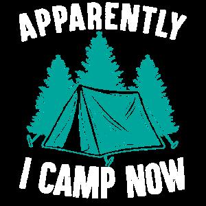 Anscheinend Campe Ich Jetzt Camping Campingzelt