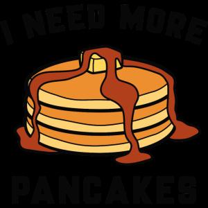 Ich brauche mehr Pfannkuchen