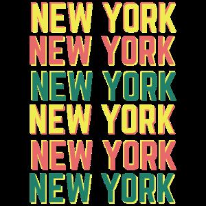 Retro New York