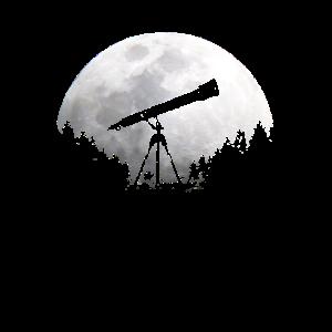 Mond Astrologie Teleskop