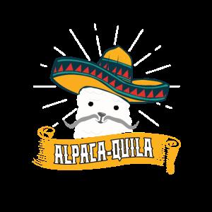 Alpaca-Quila Tequila Spruch Mexikanisches Alpaka