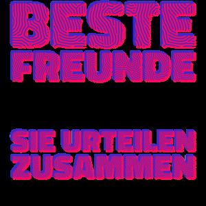 Beste Freunde Lustig Statement