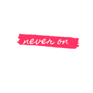 Breaking? Never on Monday!