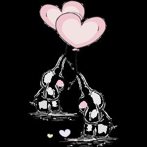 Elefanten mit Herz