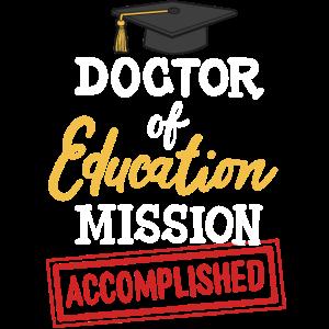 Doktor der Erziehung Doktor Doktorat