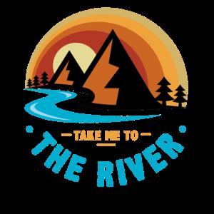Fluss, Fluss Kajakfahren, Kanufahren,