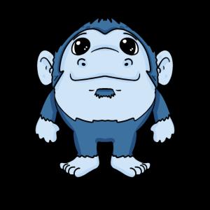 Gorilla Kleinkind