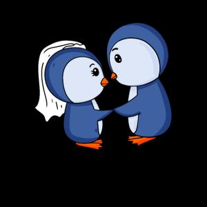 Verliebte Pinguine - Verheiratete Pinguine