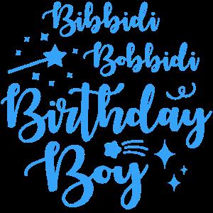 Bibbidi Bobbidi Geburtstagsjunge