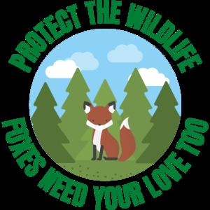 Schützen Sie die Tierwelt Füchse brauchen Ihre Liebe zu
