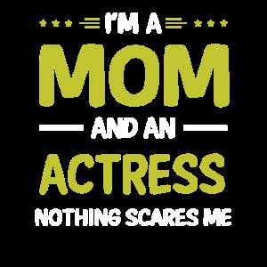 Schauspielerin Mom, Lustige Schauspielerin Mutter