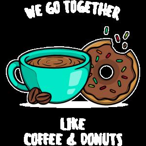 Kaffee Beste Freunde Statement Donuts