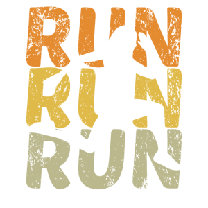 Retro Run Vintage Joggen Ausdauer Läufer Sport