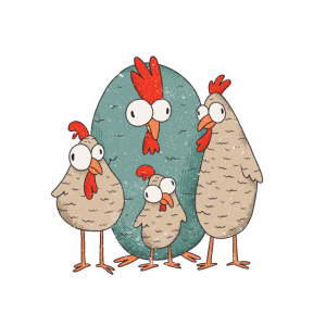Meine Mädels Lustige Landwirt Bauer Huhn Shirt