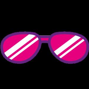 Sonnenbrille Sommer Zeichnung