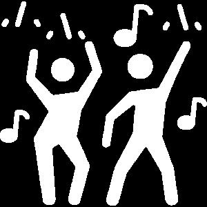 Geburtstagsparty Tanzen Musik Geschenk