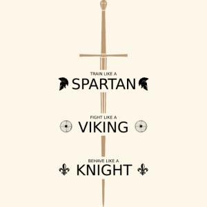 Spartan Viking Knight SCHWARZ
