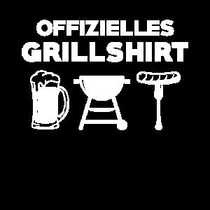 Grill Offizielles Grillshirt Geschenk
