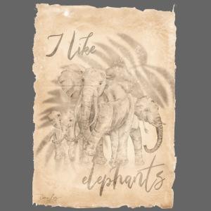 i like elephants antique