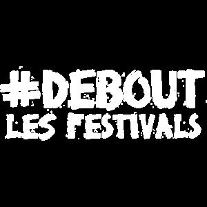 """hashtag """"Stehen Sie die Festivals"""" dark"""