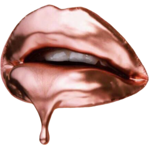 Rose Gold lips