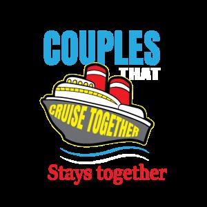Paar Kreuzfahrt Hochzeit Ehepaar Reisen Zusammen
