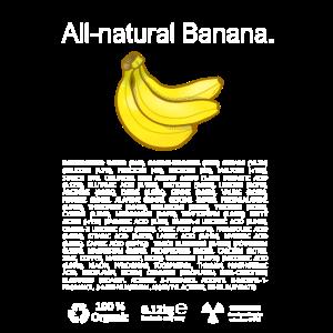 Chemikalien Zutaten Banane