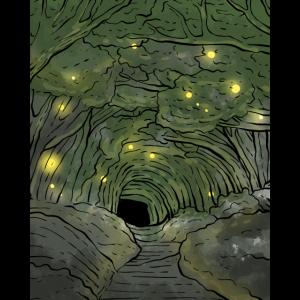 Dunkler Woods Fairies Believer Geschenk