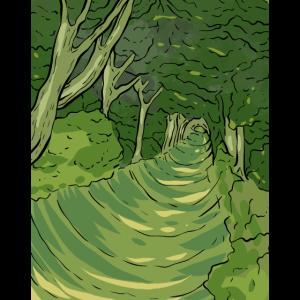 Green Woods Jäger und Naturliebhaber Geschenk