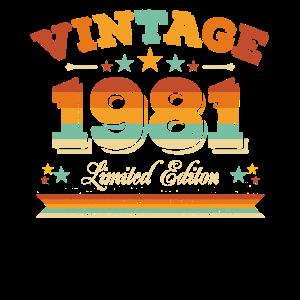 40. Geburtstag 40 Jahre Jahrgang 1981 Mai Limited