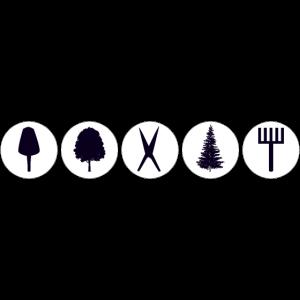 Garten Bäume Werkzeuge
