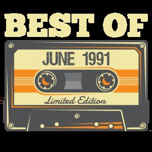Best Of June Juni 1991 30. Geburtstag 30 Jahre