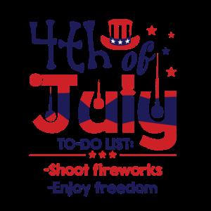 4. Juli USA Feier 1776 Lustig