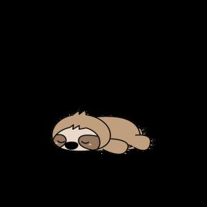 Faultier Schlafshirt