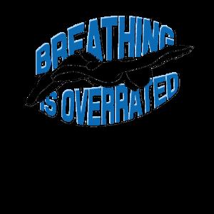 Atmen ist überbewertet - Versuchen Sie Schwimmen - für eine