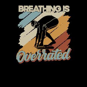 Atmen ist überbewertet - Versuchen Sie Schwimmen - Vintage