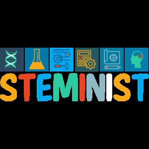 Steminist Frauen Naturwissenschaft Geschenk Spruch