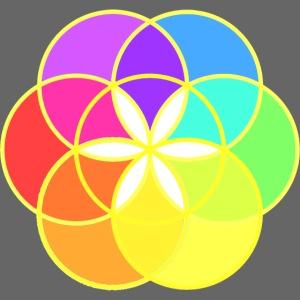 Graine de vie multicolore Omraam