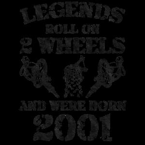 Fahrrad Legenden 2001 Geboren