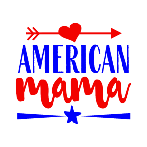 4. Juli USA Feier 1776 Mama