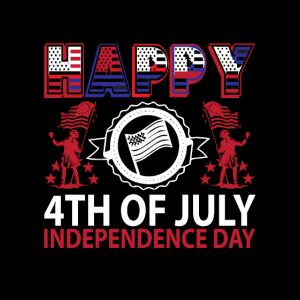 4. Juli USA Feier 1776 Sterne