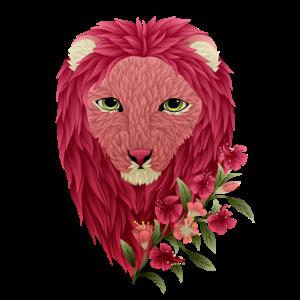 Himbeere Blumenlöwe
