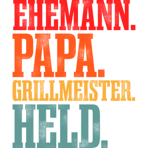 Grill Meister Papa Grillen Vatertag Geschenk