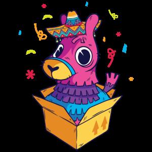 Cinco de Mayo Llama Pinata Cinco de Mayo Geschenk