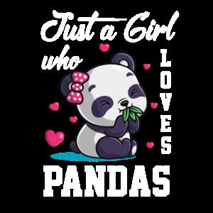 Nur Ein Mädchen, Das Pandas Liebt